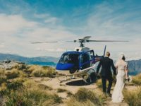 Santorini Weddings HeliAirGreece Helicopter services