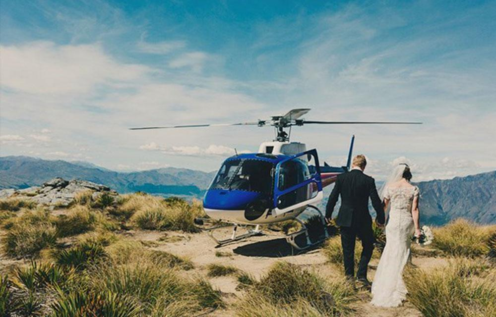 Santorini Weddings Heli AirGreece Helicopter services