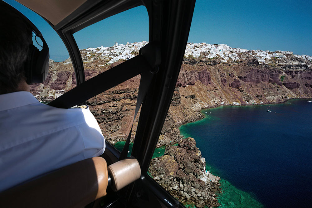 Sightseeing Santorini Flights