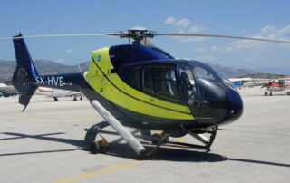 Rent a helicopter in greece Heli Air Greece