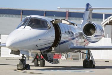 Learjet 35A heli air greece