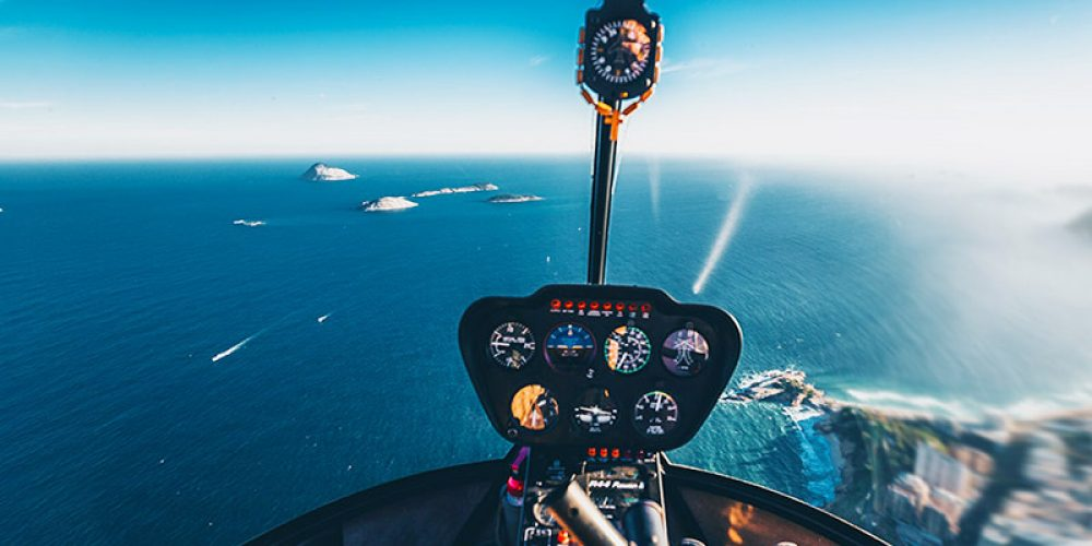 Helicopter Island Hopping