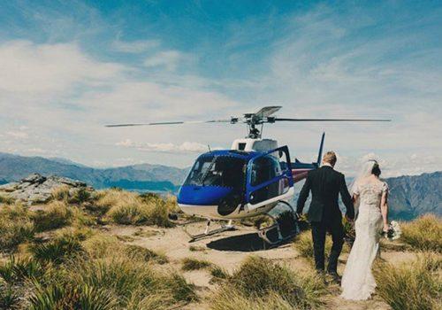 Santorini Weddings Heli AirGreece Helicopter services
